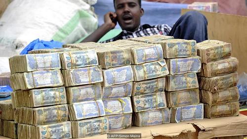 Somaliland cash pile