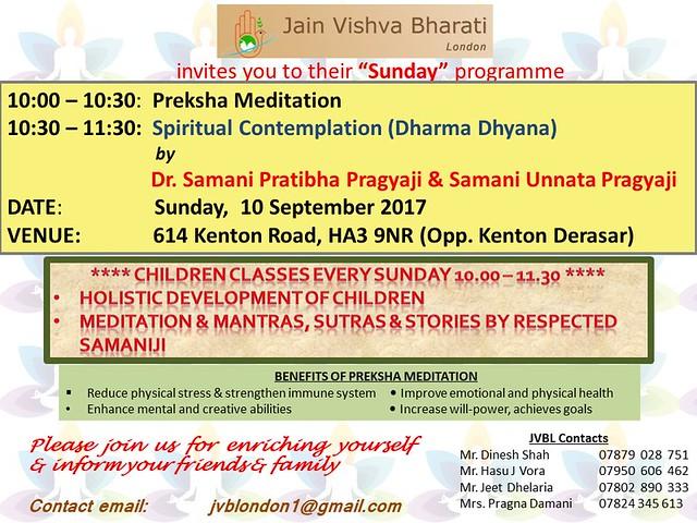 2017.09.10 Sunday Event
