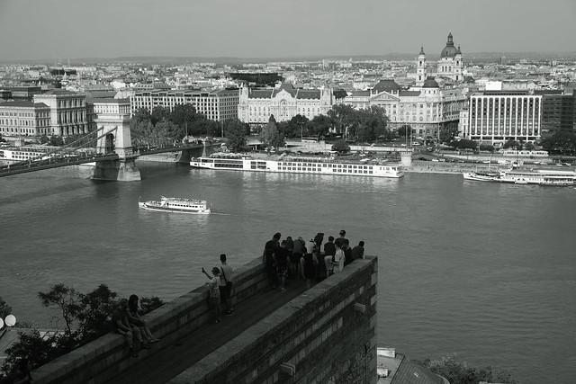 tourists@Danube,Budapest