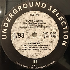 V.A.:DMC(UNDERGROUND SELECTION 1:93)(LABEL SIDE-B)