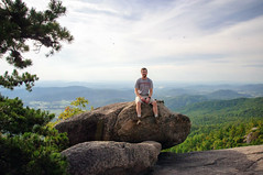 010 Matt on Old Rag Mountain