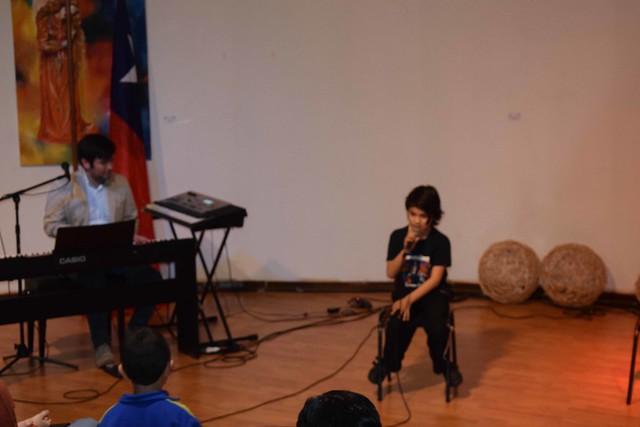 Presentación de canto y guitarra