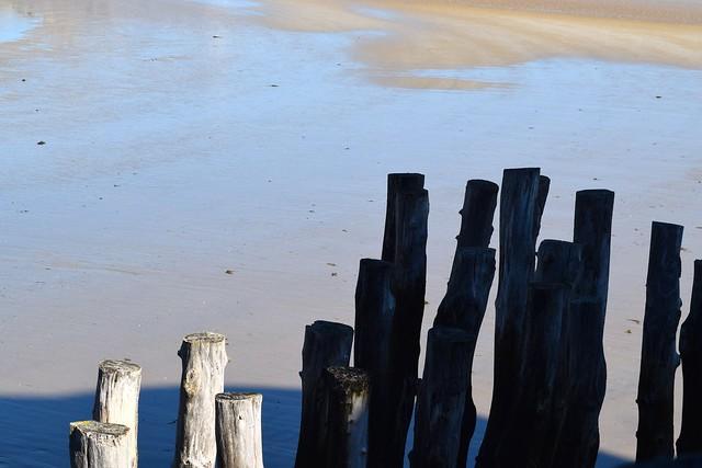 Beach at St. Malo | www.rachelphipps.com @rachelphipps
