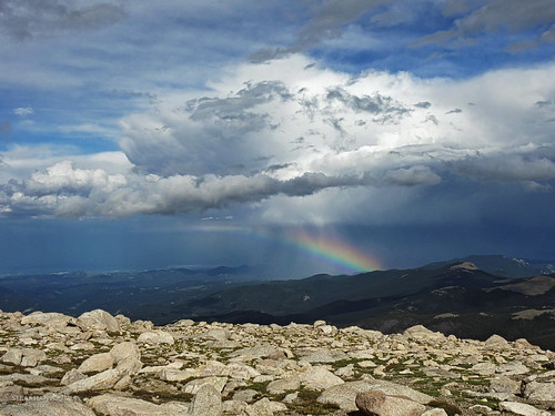 Mount Evans: Over the Rainbow