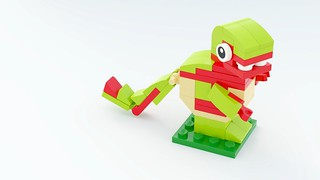 40247 Dinosaur by Steven Reid