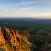 Mogollon Rim Sunset by Coconino National Forest