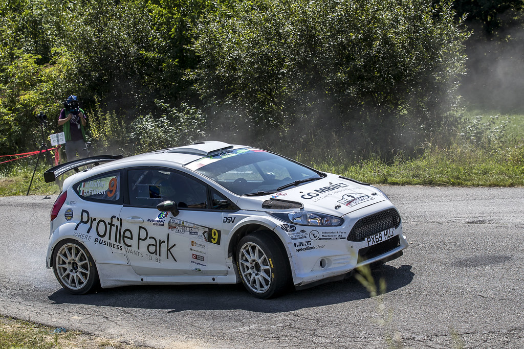 09 MOFFETT Josh (IRL) FULTON James (IRL) Ford Fiesta R5 action during the 2017 European Rally Championship Rally Rzeszow in Poland from August 3 to 5 - Photo Gregory Lenormand / DPPI