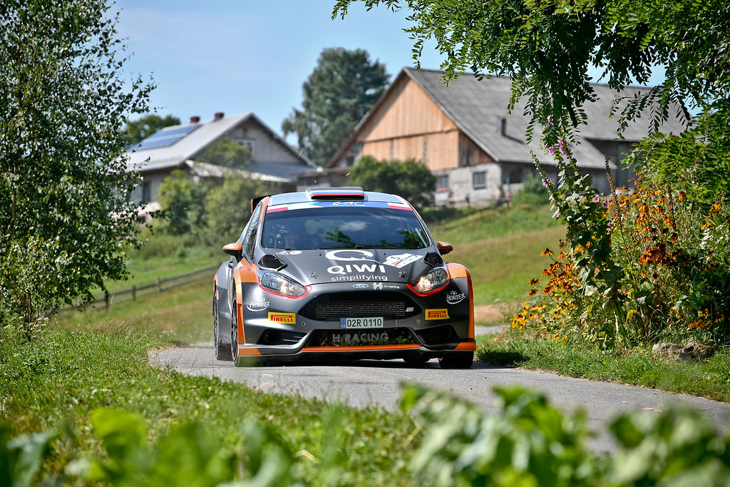 05 LUKYANUK Alexey (RUS) ARNAUTOV Alexey (RUS) Ford Fiesta R5 action during the 2017 European Rally Championship Rally Rzeszowski in Poland from August 4 to 6 - Photo Wilfried Marcon / DPPI