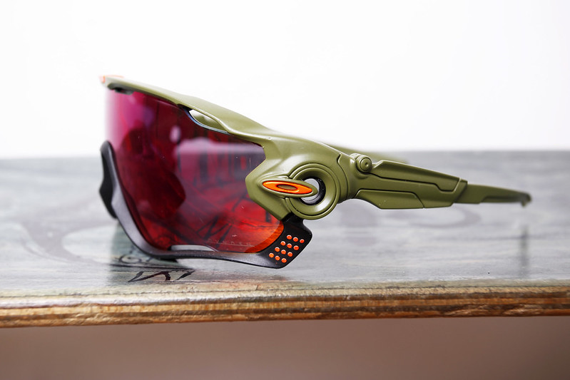 Oakley Jawbreakers Painted by Swamp Things