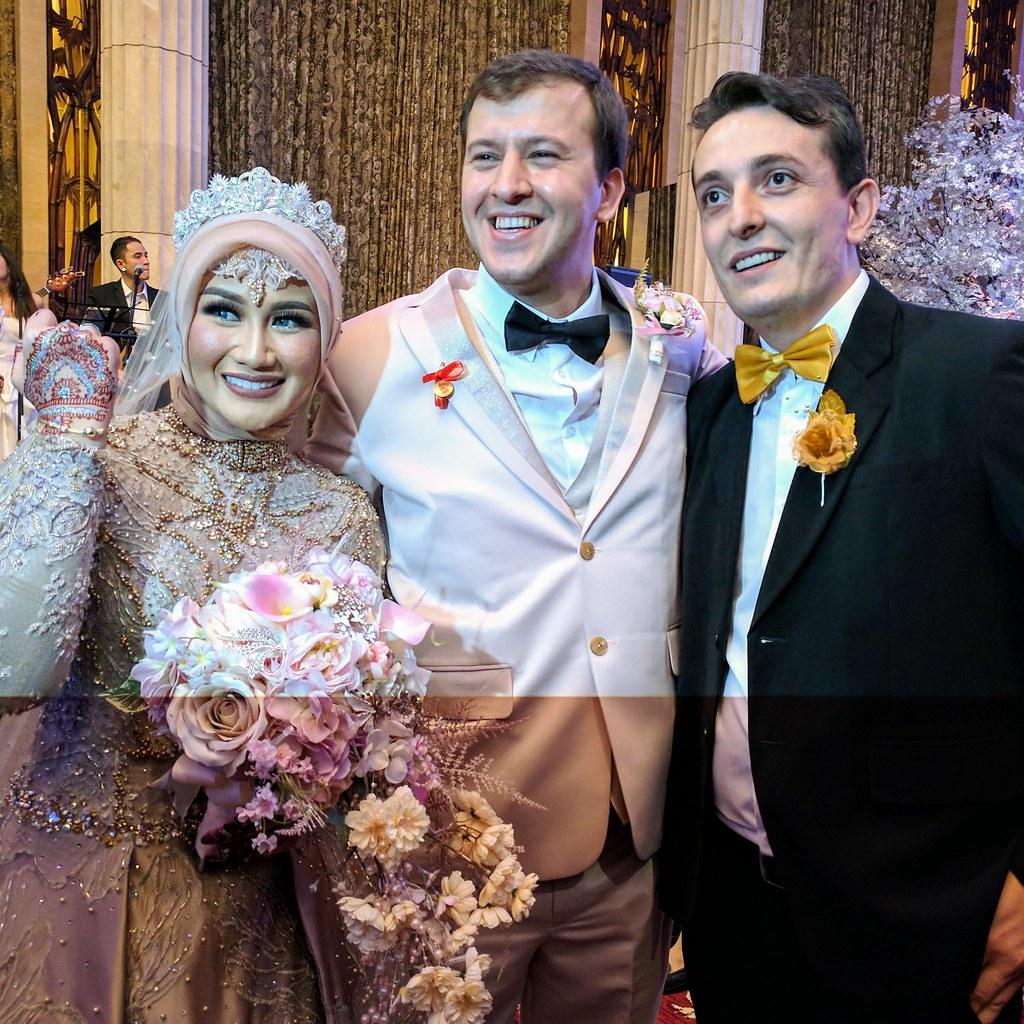 以土耳其傳統致贈新娘手鍊祝福新人百年好合