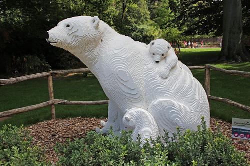 LEGO polarbear family