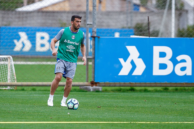 Treino Grêmio 11/08/17