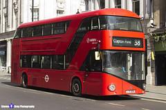 Wrightbus NRM NBFL - LTZ 1209 - LT209 - Clapton Pond 38 - Arriva - London 2017 - Steven Gray - IMG_5739