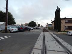 Railroad tracks in Gardena