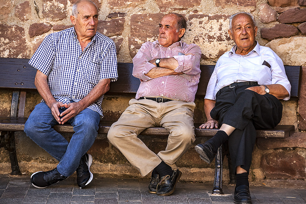 Three old men--Prades