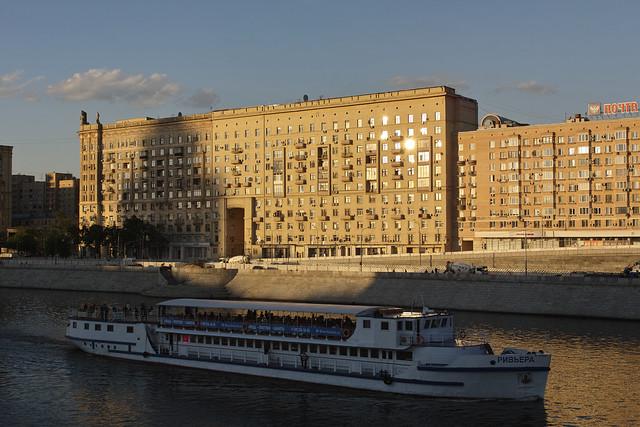 Smolenskaya embankment