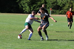 Thomas Lantmeeters vs Evergreen State (Aug 17, 2017 Jon Shephard photo)