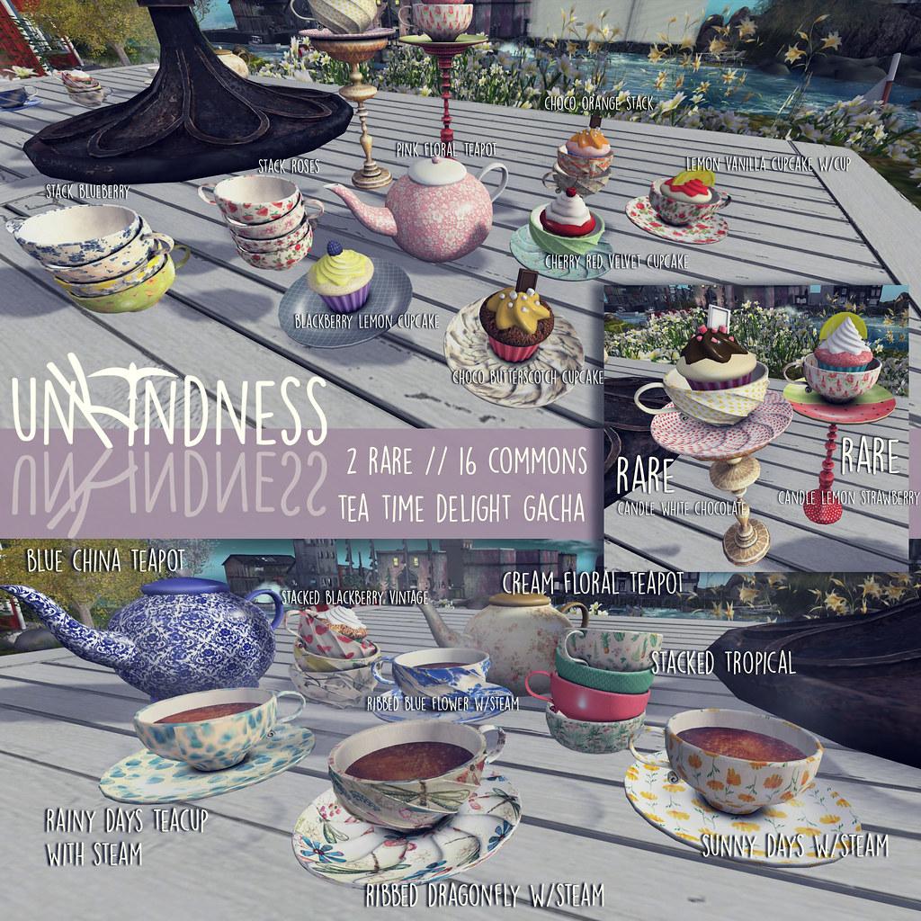 uK - Tea Time Delights Gacha - Whimsical - SecondLifeHub.com