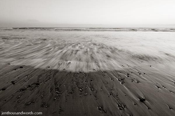 Beach at twilight 2