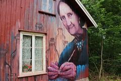 Muralmåleri på östra Orust
