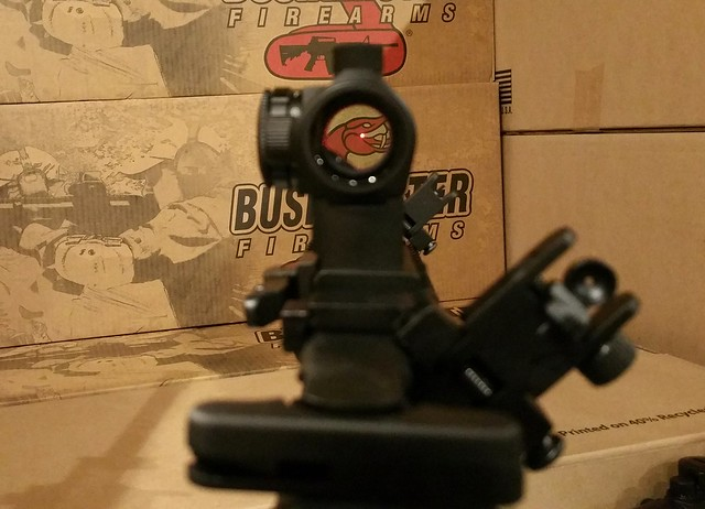 Bushmaster Red Dot 45 Degree Sights WWW.USAFIREARMS.COM