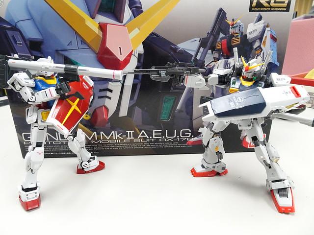 RX78 & Mk-II