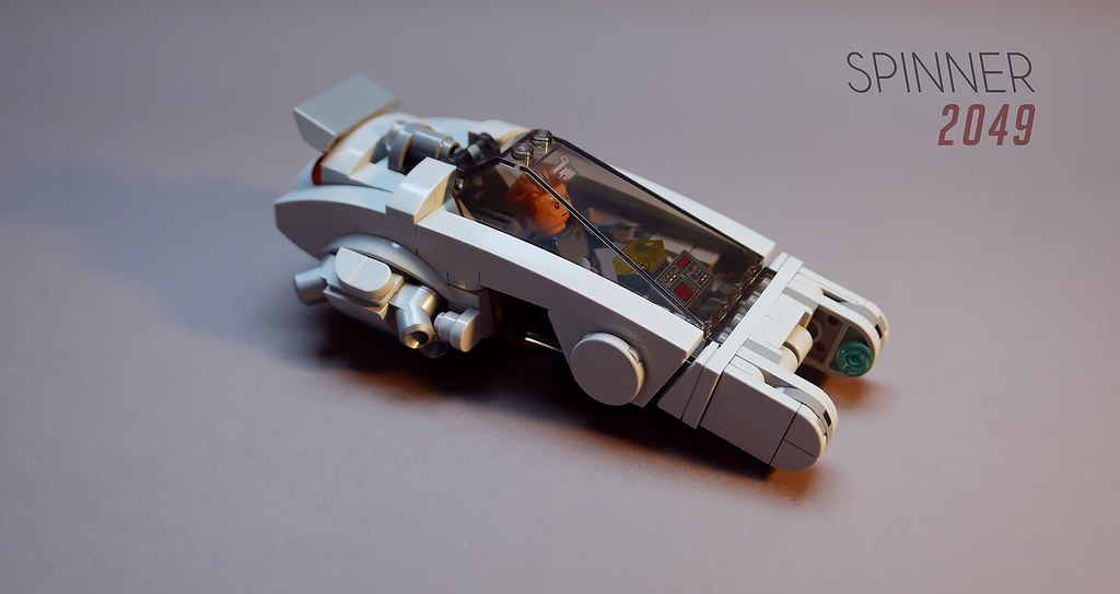 Spinner 2049 (custom built Lego model)
