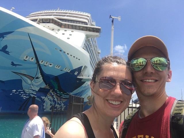 Anniversary cruise phone pics