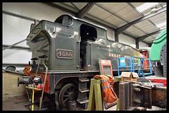 No 4588 Trojan 12th July 2017 Peak Rail Rowsley South