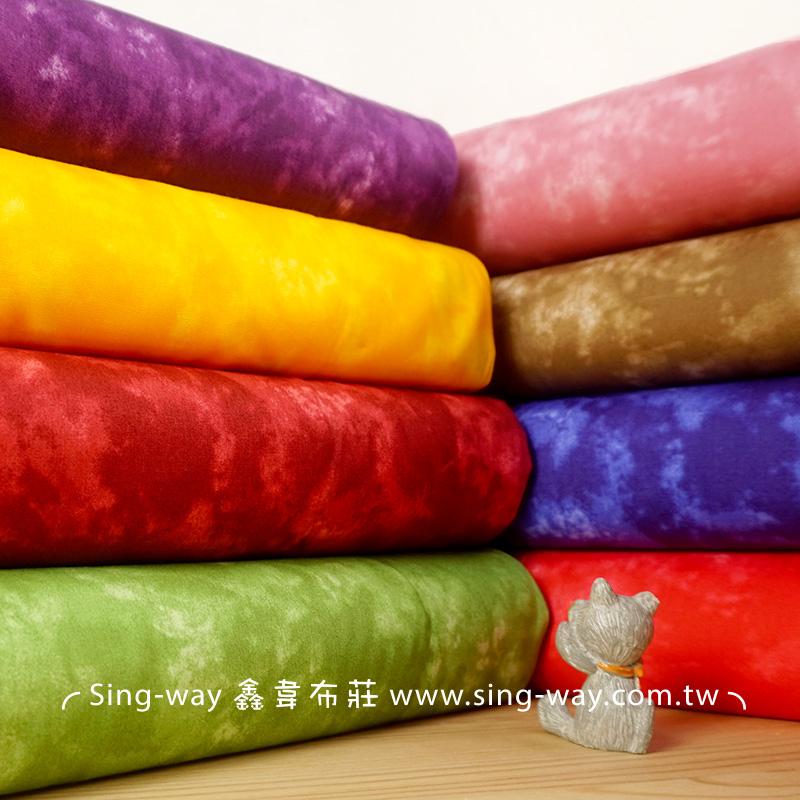 暈染印花布 渲染 漸層 雲彩布 手工藝DIy拼布布料 CA450688
