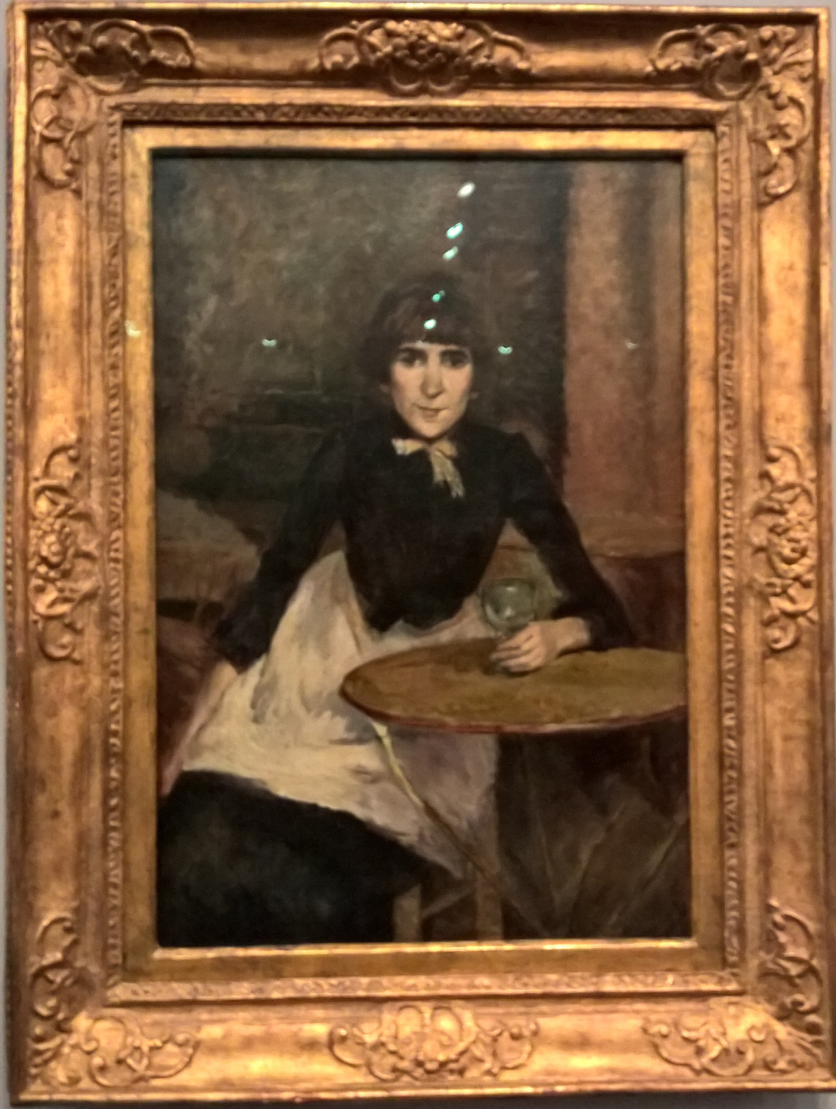 1888_À la Bastille _ Óleo sobre tela