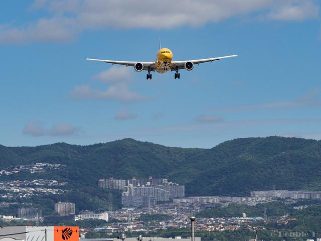 Itami Airport 2017.8.3 (20) JA743A / C-3PO ANA JET (B777-200)
