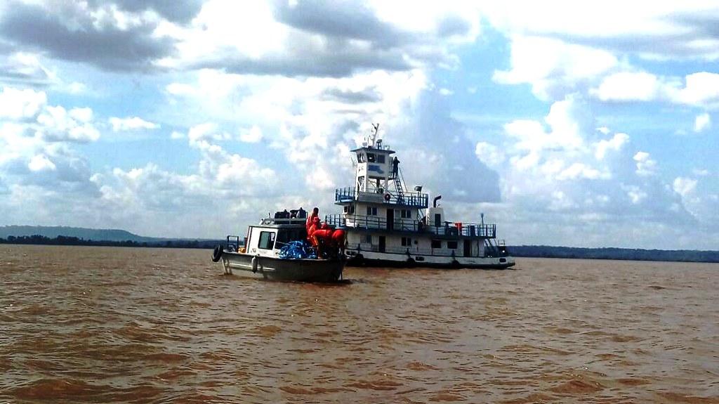 Plano para içar rebocador do fundo do Amazonas ainda não foi definido