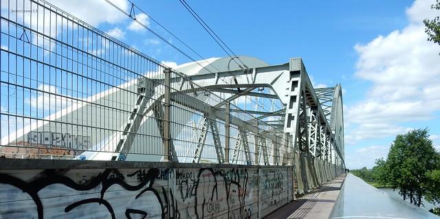 Demka-spoorbrug en Werkspoorbrug