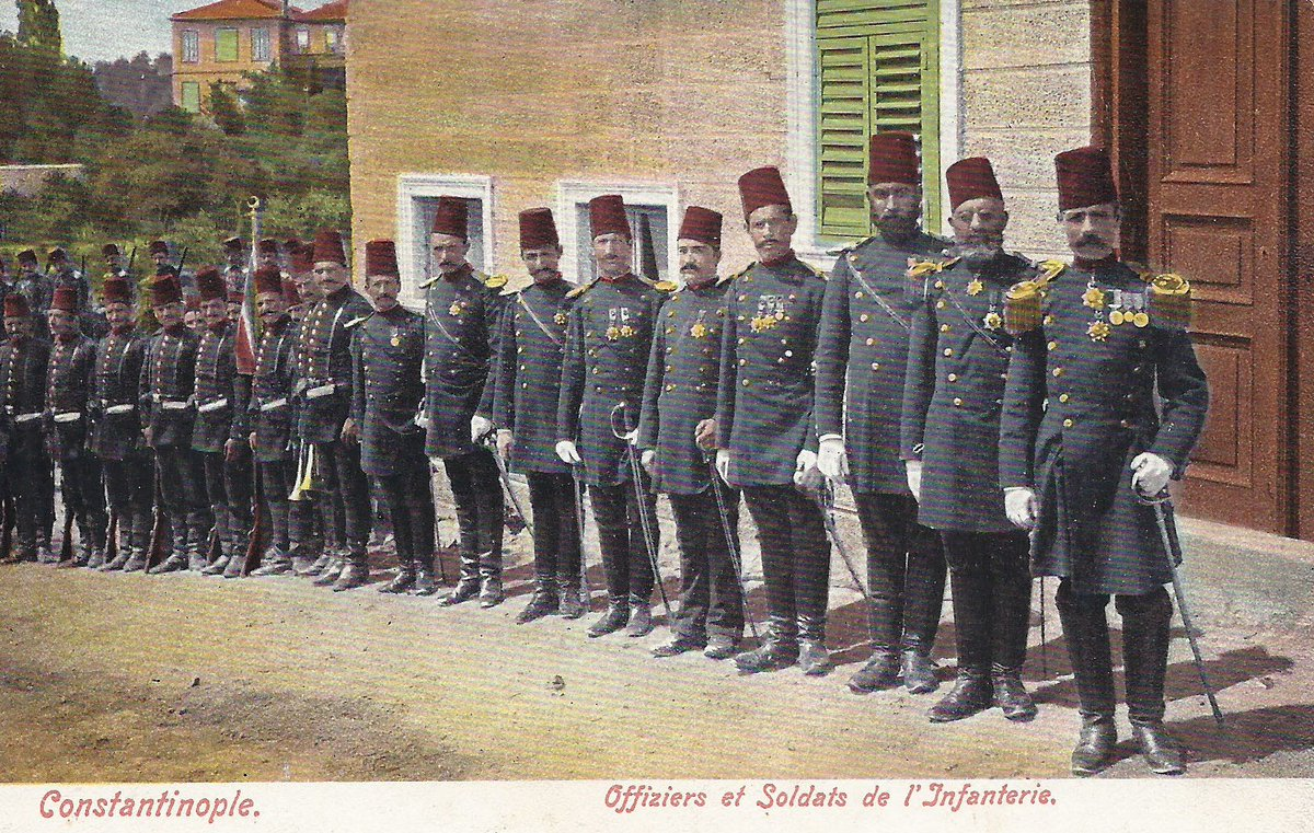 Ottoman officers in Constantinople, 1897.