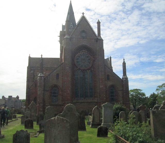 St Magnus Cathedral, Kirkwall, from Churchyard