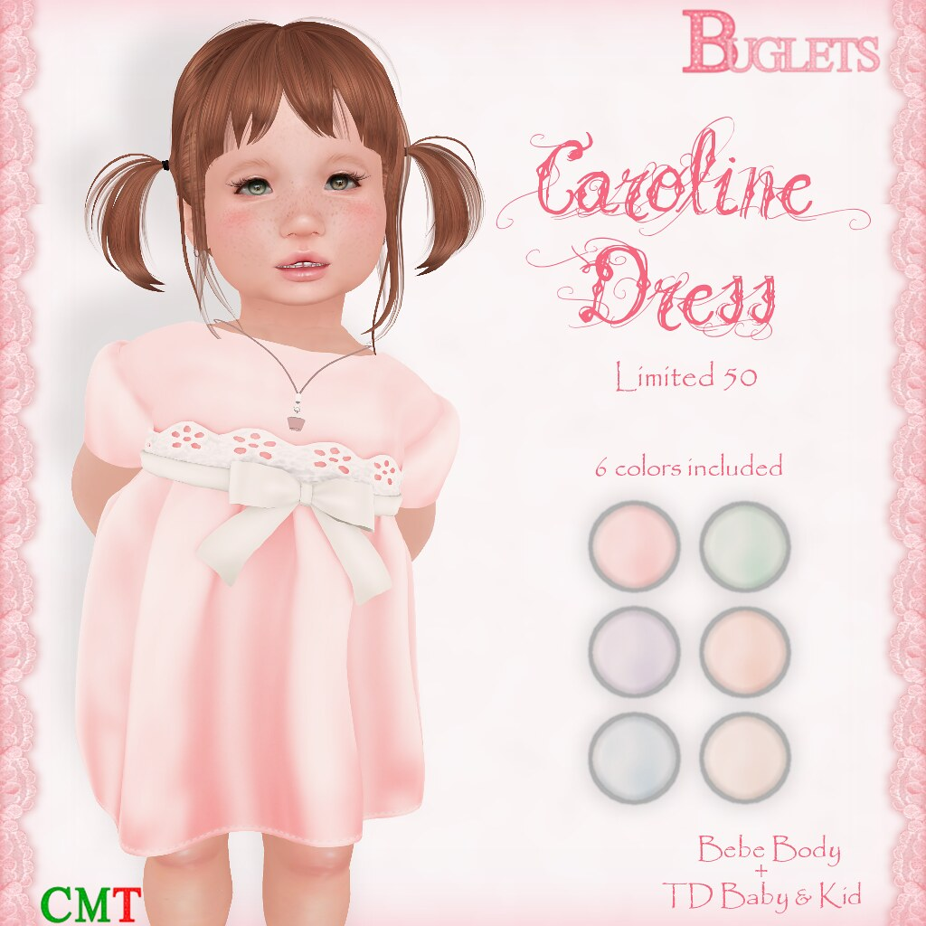 Caroline Dress AD - SecondLifeHub.com