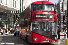 Wrightbus NRM NBFL - LTZ 1059 - LT59 - Fulham Broadway 11 - Go Ahead London - London 2017 - Steven Gray - IMG_6368