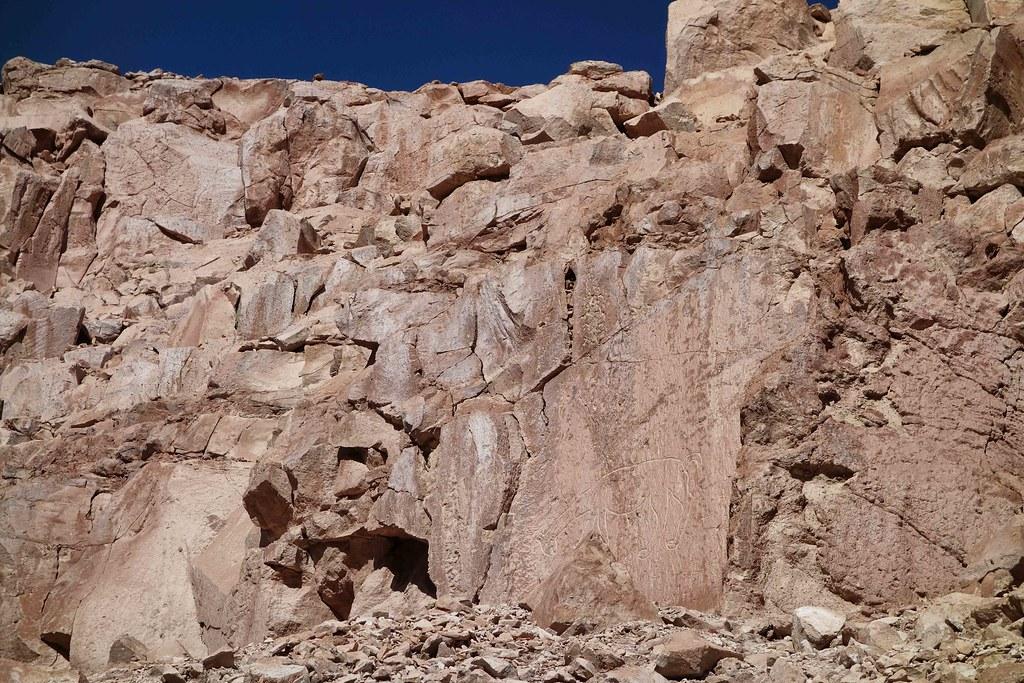 San Pedro Atacama - Valle de Jere - Petroglyphe