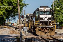 NS 6662 | EMD SD60 | NS Harris Yard