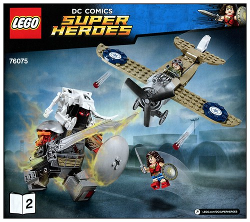 LEGO DC Super Heroes 76075 Wonder Woman Warrior Battle 09