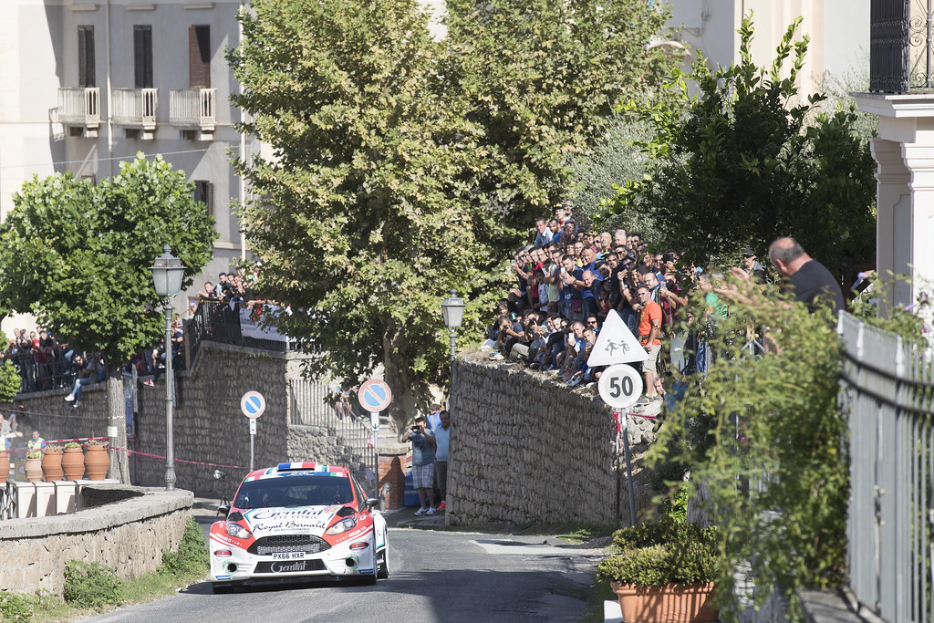 05 BOUFFIER Bryan (FRA)  PANSERI Xavier  (FRA) Ford Fiesta R5 action during the 2017 European Rally Championship ERC Rally di Roma Capitale,  from september 15 to 17 , at Fiuggi, Italia - Photo Gregory Lenormand / DPPI