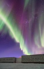 South Pole Aurora Rain