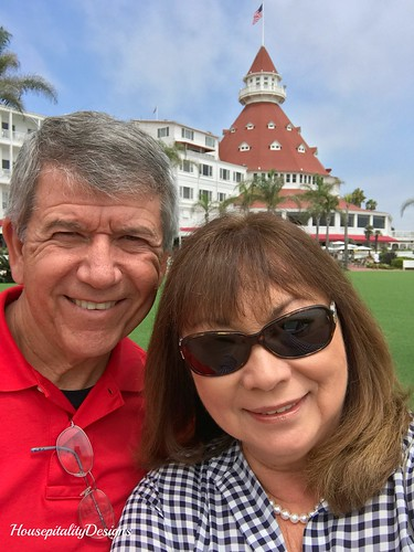 Tom and Shirley-Hotel Del Coronado-Housepitality Designs