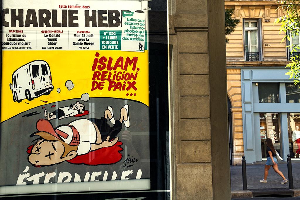 CHARLIE HEBDO-ISLAM, RELIGION DE PAIX--Marseille