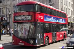 Wrightbus NRM NBFL - LTZ 1213 - LT213 - Clapton Pond 38 - Arriva - London 2017 - Steven Gray - IMG_6082