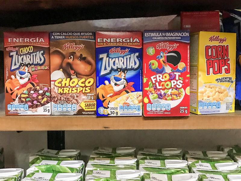 Cereal in Tulum, Mexico