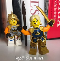 lego3130starwars lego idea 💡 special minifigure position custom medieval fantasy guard warrior