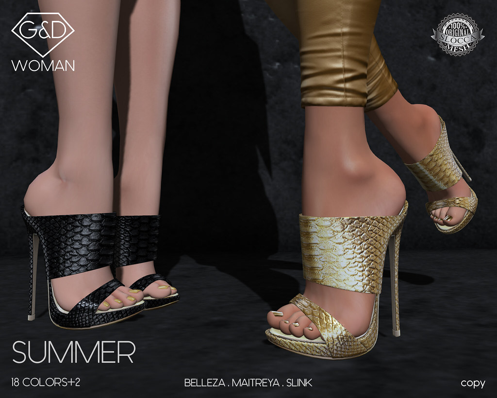 G&D Sandals Summer 01 adv - SecondLifeHub.com