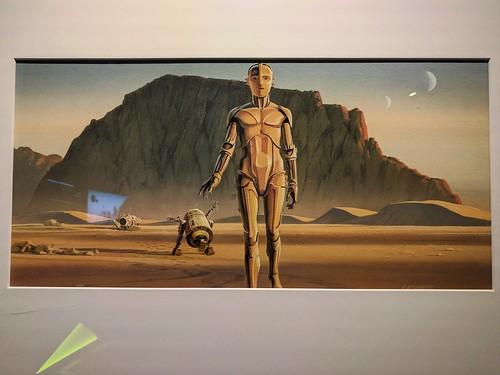 Ralph McQuarrie R2 & 3P0 Concept